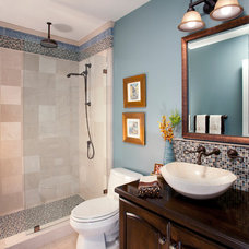 Traditional Bathroom by Cindy Smetana Interiors