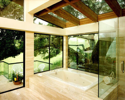 Modern Bathroom by Danadjieva Hansen Architects, inc