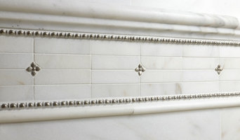 Danby Master Bath with White Bronze and Marble