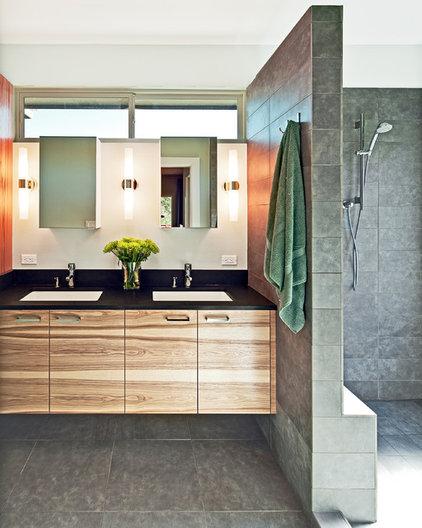 Contemporary Bathroom by Jennifer Ott Design