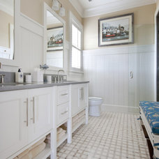 Traditional Bathroom by Phillip W Smith General Contractor, Inc.