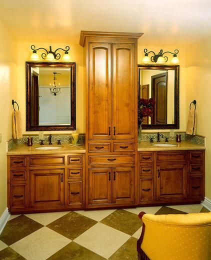 Mediterranean Bathroom by Castle Rock Construction