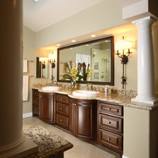 Traditional Bathroom by Meredith Anne Interiors