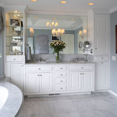 Traditional Bathroom by Crystal Kitchen Center