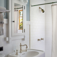 traditional bathroom by HartmanBaldwin Design/Build