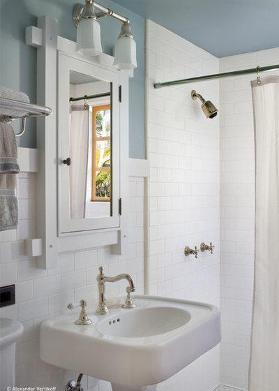 Craftsman Bathroom by HartmanBaldwin Design/Build