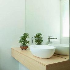Contemporary Bathroom by Brooke Aitken Design