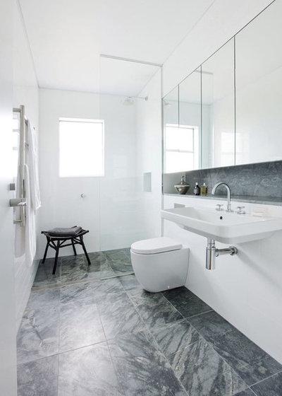 Contemporary Bathroom by Brendan Wong Design
