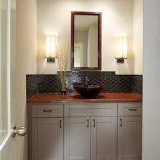 Modern Bathroom by Hatfield Builders & Remodelers
