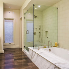 Contemporary Bathroom by Victor Myers Custom Homes & Real Estate