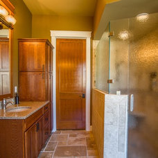 Craftsman Bathroom by Choice Construction