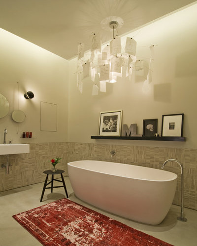 Industrial Bathroom by DHD Architecture and Interior Design