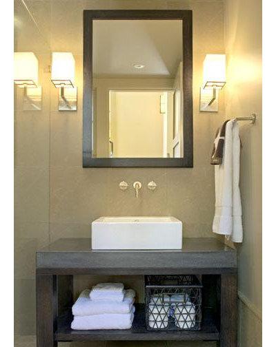 Contemporary Bathroom by David Ludwig - Architect