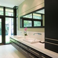 Contemporary Bathroom by David Small Designs