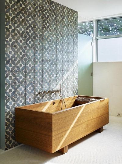 Contemporain Salle de Bain by Abramson Architects