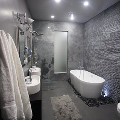 modern bathroom by apr ottley
