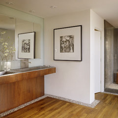 contemporary bathroom by Geoffrey De Sousa Interior Design