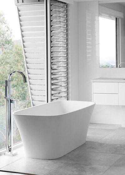 Contemporary Bathroom by MG Design & Building Pty Ltd