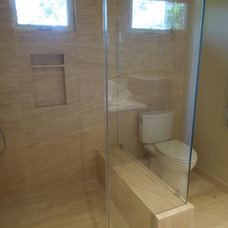 Contemporary Bathroom by Laura Frost Design