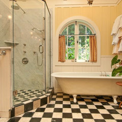 traditional bathroom by Debra Campbell Design