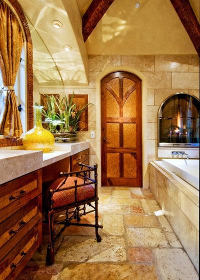 Traditional Bathroom by Debra Campbell Design