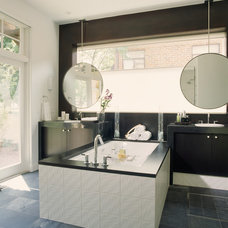 Modern Bathroom by Debra Toney, AIA Assoc.