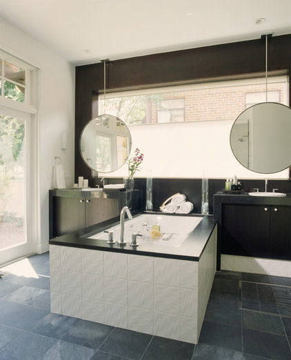 modern bathroom by Debra Toney