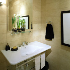 Contemporary Bathroom by Debra Toney, AIA Assoc.