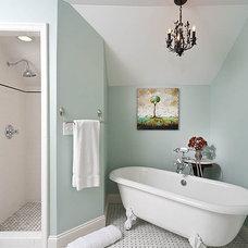 Traditional Bathroom by Renewal Design-Build