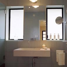 Traditional Bathroom by Rozalynn Woods Interior Design