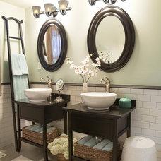 Traditional Bathroom by We Got Lites