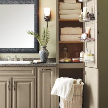 Decorá Cabinets: Vanity Hamper