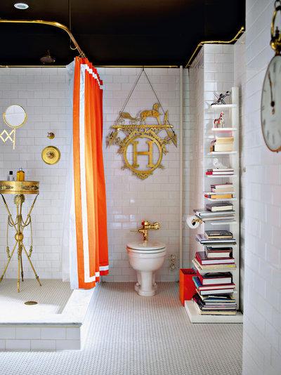 エクレクティック 浴室 by Chronicle Books