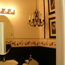 Traditional Bathroom by Decorating and Staging by Vermelle