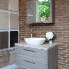 Contemporary Bathroom by Decorative Materials