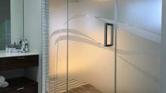 Decorative Shower Privacy