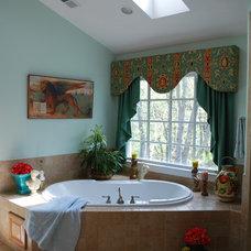 Mediterranean Bathroom by Amelia Bennett