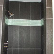 Contemporary Bathroom by Lisa Silverman/ Decorator Guru