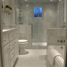 Traditional Bathroom by Woodbourne Builders Inc