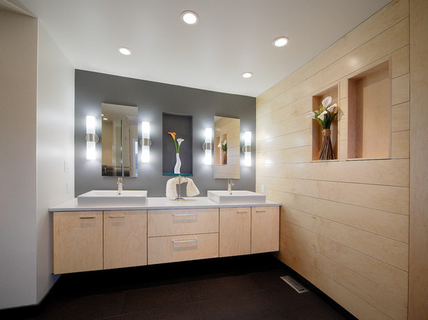 Top 10 Bathroom Lighting Ideas: The Power Of Ply: 10 Stylish Uses For Plywood From Floors