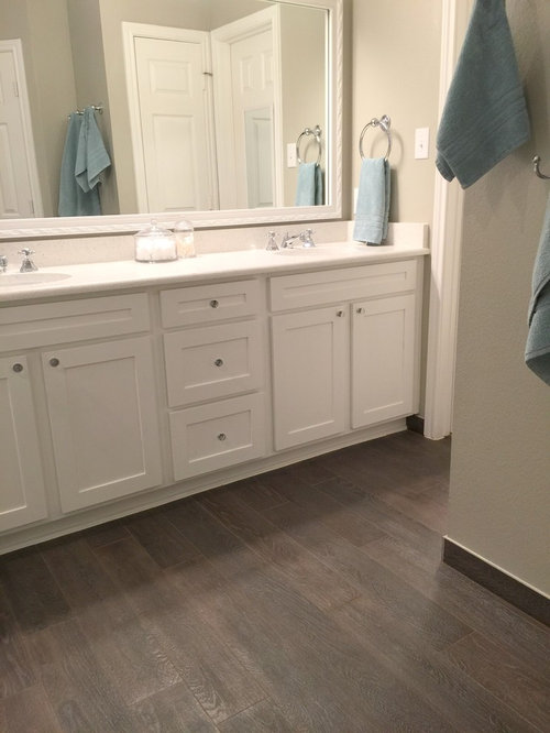 in Dallas with an undermount sink, shaker cabinets, white cabinets ...