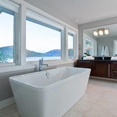 Contemporary Bathroom by Karnak Pro Builders