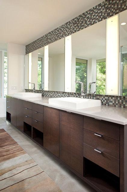 Contemporary Bathroom by John Kraemer & Sons