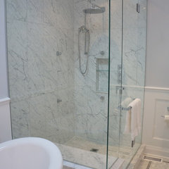 traditional bathroom by Valiant Design Co.