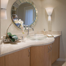 Contemporary Bathroom by Alpha Design Group