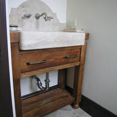 Traditional Bathroom by Evans Woodworking Inc