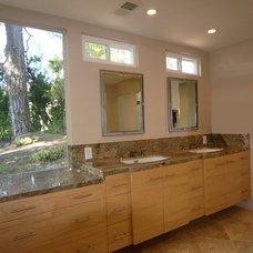 Traditional Bathroom by Alexis Burris Designs
