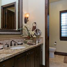 Traditional Bathroom by McCullough Design Development Inc