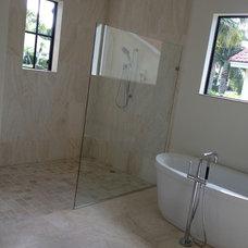 Modern Bathroom by NMB Custom Homes and Renovations, LLC