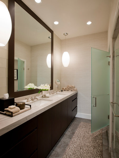 Framed Bathroom Mirror Home Design Ideas Pictures Remodel And Decor